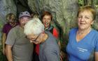 Kraški rob je znan tudi po številnih kraških jamah