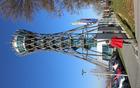 Ogledali smo si tudi razgledni stolp nad Lendavo