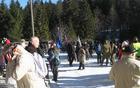 Mrzlo zimsko vreme je letos zadržalo veliko vsakoletnih udeležencev