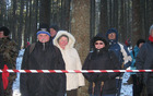 Kljub mrazu so udeleženci vztrajali do konca komemoracije