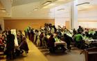 Kmečke žene so napolnile dvorano Lopan