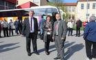 Oba župana ob prihodu v Središče ob Dravi