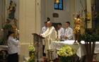 Pri vstajenski maši