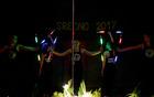 Twirling in mažoretni klub Pet elementov pod vodstvom trenerke Nastje Keršič (foto: M. Jambriško)