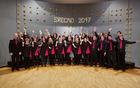 Mešani pevski zbor Forte pod vodstvom Tomaža Marčiča (foto: Matjaž Jambriško)