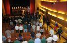 Prihod praporščakov v dvorano. Foto: D.I.