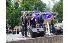 Kvatropirci so bili godbena predskupina in petkov koncert tudi zaključili