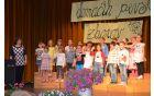 Mlajši otroški pevski zbor OŠ Vransko-Tabor pod vodstvom Danijele Jeršič