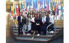 S poslanko Tanjo Fajon v Evropskem parlamentu