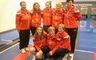 Na sliki z leve: Milena Veber Jarc, Nika Radelj, Katja Šribar, Slavica Hribšek, Silva Zupančič; čepijo – Jasmina Mišič, Rozi Flisa in Jelka Oven