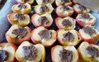 Pečena jabolka lokalnih gospodinj