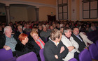 Dvorana je bila polna.