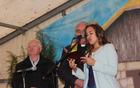 Pri obredu je sodelovala vinska kraljica.