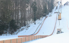 Pogled na obnovljeno skakalnico.