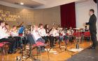 Godbeniki so odlično igrali pod vodstvom dirigenta Tomaža Majcena.