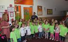 Otroci so prikazali doživet glasbeni kulturni program.