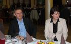 Lidija Eler Jazbinšek in Peter Vrisk