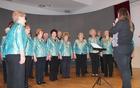 Kulturni program so pripravile društvene pevke.