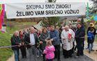 V Podgorju pod Čerinom na odseku Ribič–Kralj–Košec–Mlakar so dobili obnovljeno cesto.