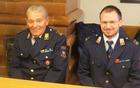 Predsednik in poveljnik PGD Bistrica Bojan Balantič in Aleš Meglič (foto Media butik)