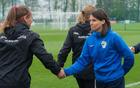 Trenerka Tina Kelenberger