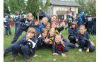 Pionirke na regijskem tekmovanju v Polju pri Vodicah [foto: Klemen Zibelnik]