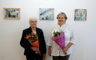 Majda in Saša Bezjak v poročni dvorani na Velki. Foto: Srečko Brumen