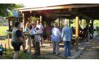 Zbor tekmovalcev članov in članic DI Slovenj Gradec na drugi tekmi ribiškega tekmovanja na Brdinjah
