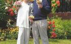 Tine in Zinka ob 60-letnici poroke