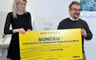 Ob predaji donatorskega bona Zvezi Sonček