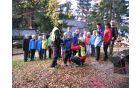 Otroci Planinskega krožka OŠ Prevalje na Kremžarici