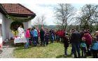 Mašo je daroval domači župnik Jože Kohek (foto: Milena Knez)