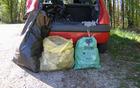 Odpadki v vrečah