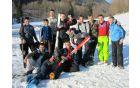 Udeleženci smučarskih skokov Zlatenek 2012