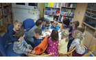 Pravljična ura v Občinski knjižnici Tabor, 29. 11. ...