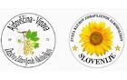 Logo društva in logo ZKZAS