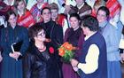 Dirigentka in zborovodkinja PD Zvon ga. Marija Celestina, ter predsednik PD Zvon g. Milan Klančnik