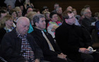 iz leve: g. Janko  Slimšek, prof, dr. Janez Juhant, g. Janez Kvaternik, šmarski župnik