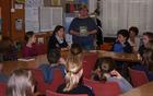Prva bralnica v šolski knjižnici