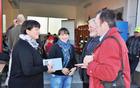 Avtorici Liljana Jantol Weber in Mojca Ramovš ter etnologa dr. Janez Bogataj in dr. Vito Hazler. Foto Alenka Veber.