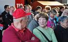 Obiskovalci predstavitve knjige. Foto Alenka Veber.