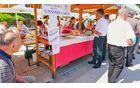 Stojnica TD – Mengeš na tržnici v Domžalah