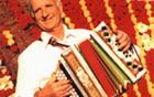 Harmonikar Lojze Slak je ustvaril vrsto nepozabnih, ponarodelih pesmi.