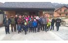 Turistično rekreativno društvo Turnše – Češenik na obisku Pavčkovega doma v Šentjuriju na Dolenjskem. Foto:Ljudmila Bajc
