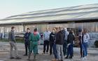 Ogled kmetije Pirc (Foto: Dragica Ribič)