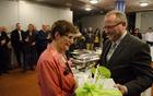 Zahvala Jožici Kotar s strani župana Jožeta Muhiča.