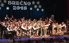 Utrinek z lanskoletnega božično-novoletnega koncerta