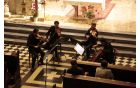 Godalni kvartet Feguš iz Maribora. Foto: Jernej Skrt