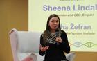 Shenna je z nami delila nasvete za mirno podjetniško pot.