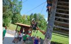 Mini adrenalinski park [foto: Klemen Zibelnik]